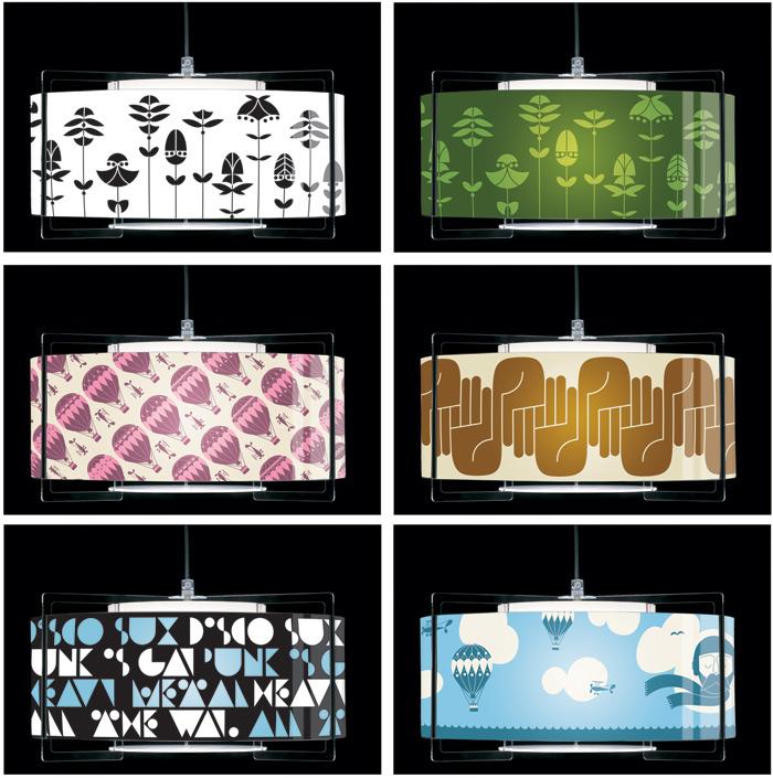 Nockdown lamps Kirk Lamps