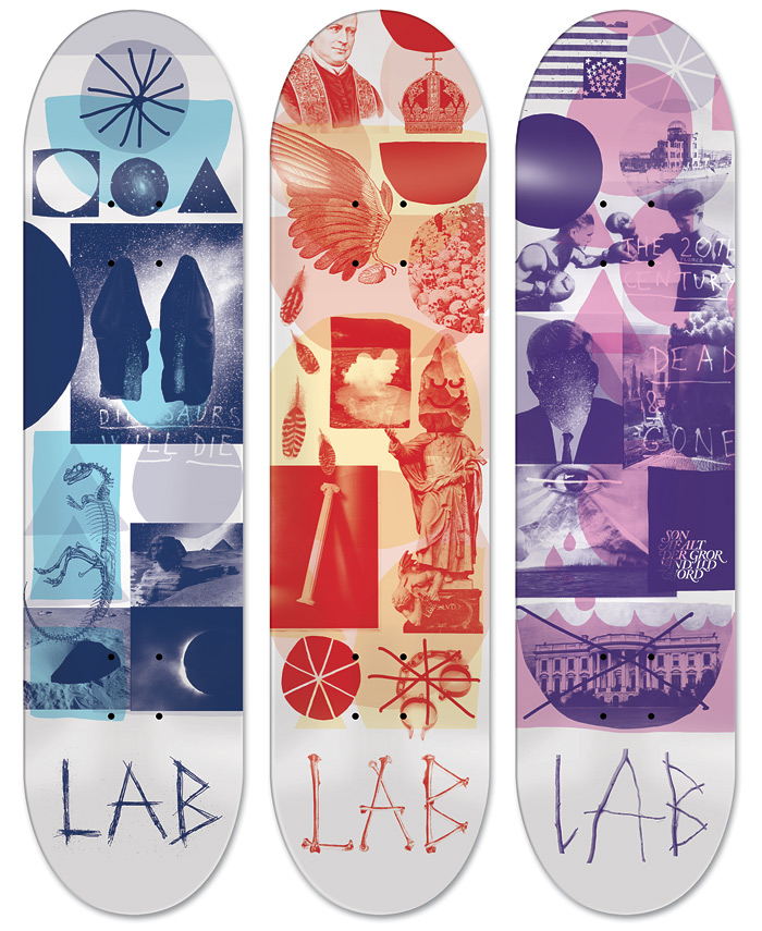 eDECK emilkozak base lille fladwqwddtes all3 LAB Skateboards